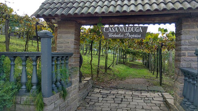 entrada da casa valduga