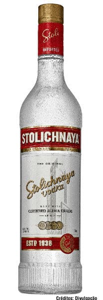 garrafa Stolichnaya Premium