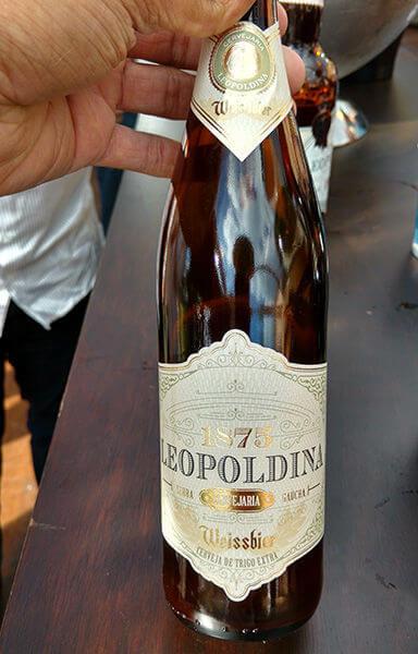 Cerveja Leopoldina weissbier