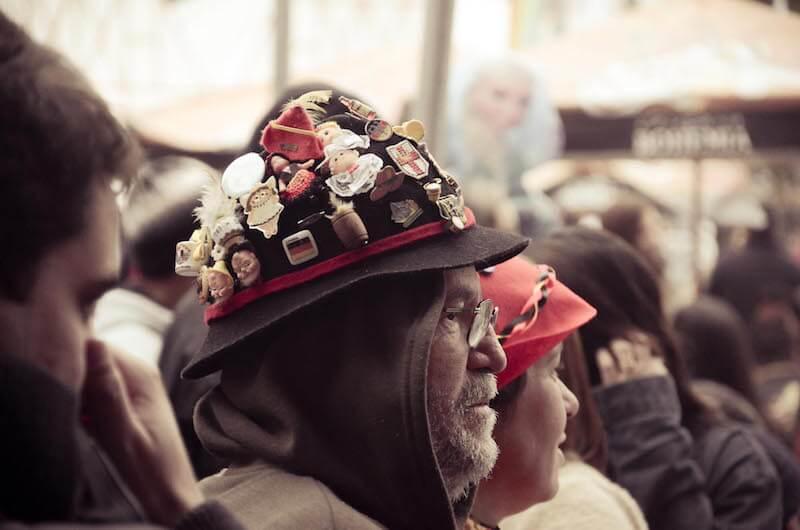 coroa alemão na Bauernfest