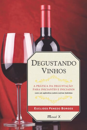 capa do Livro Degustando Vinhos