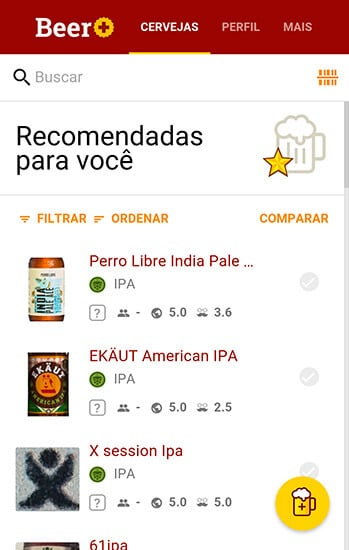 print da home no Beer Plus
