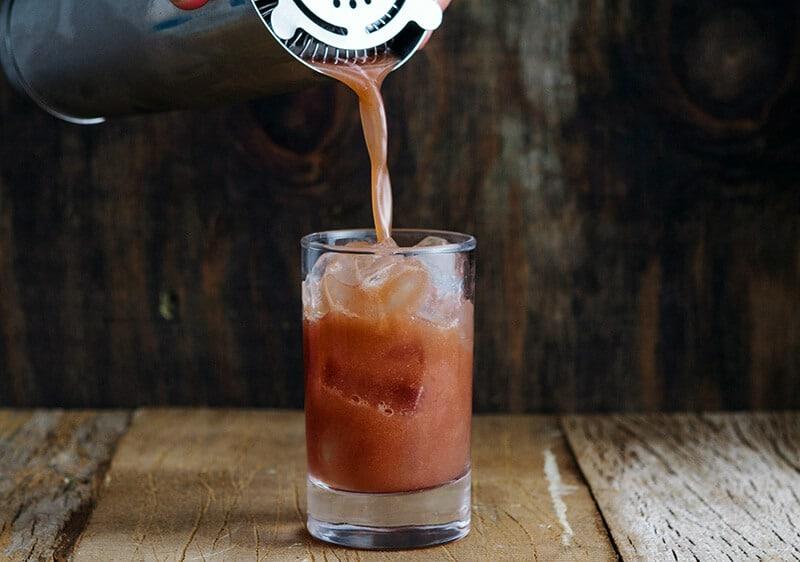 Drink do Projeto Rabo de Galo