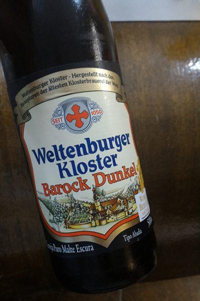 garrafa cerveja barock dunkel
