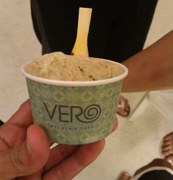 sorvete etílico da vero