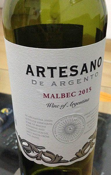 vinho Artesano malbec