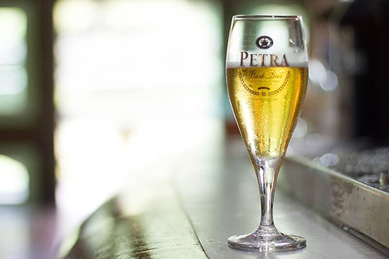 taça da cerveja petra