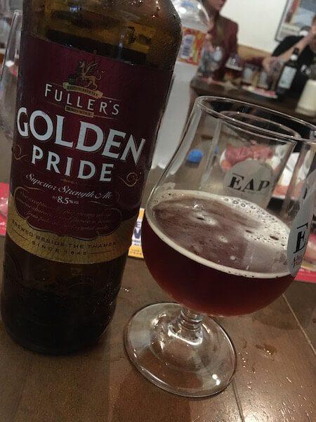 cerveja golden pride