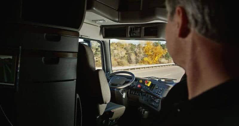 motorista do caminhão