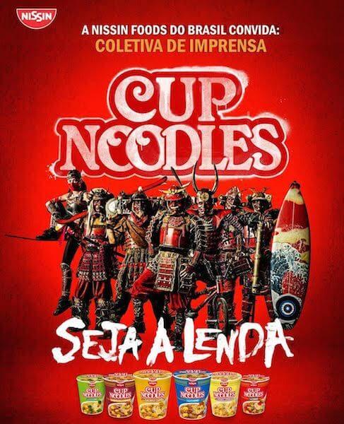 folder cup noodles
