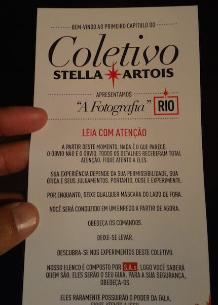 entrada do Coletivo Stella Artois