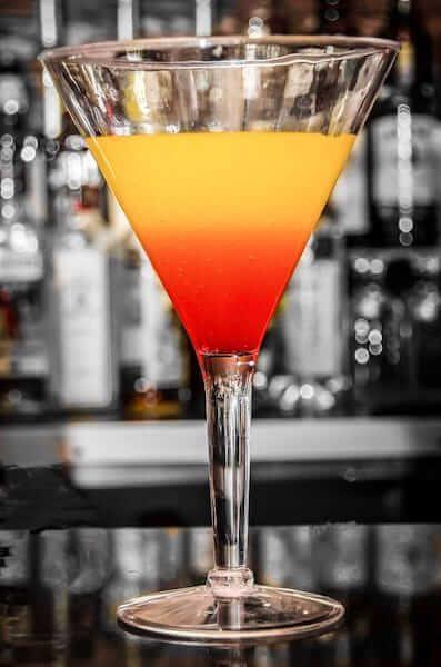 drink em camada colorido