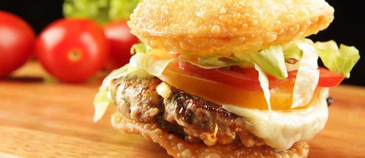 hambúrguer de pastel