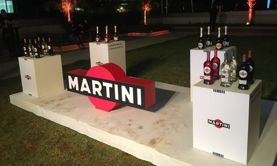 stand terraza martini