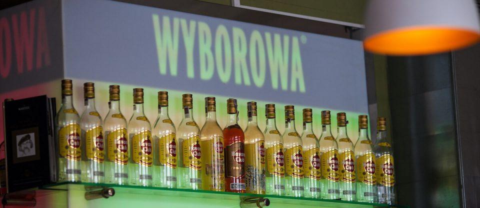 garrafas Wyborowa