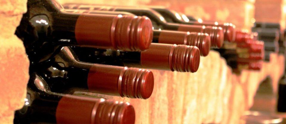garrafas para como conservar o vinho