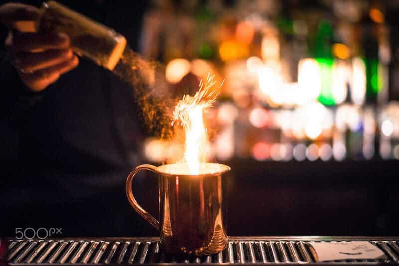 drink pegando fogo
