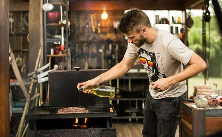 rodrigo hilbert cozinhando