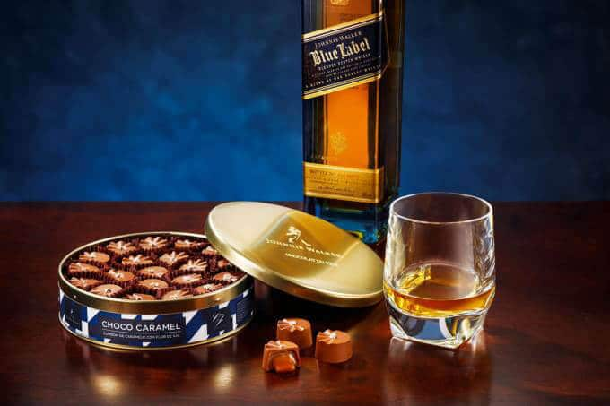 johnnie walker blue label chocolate