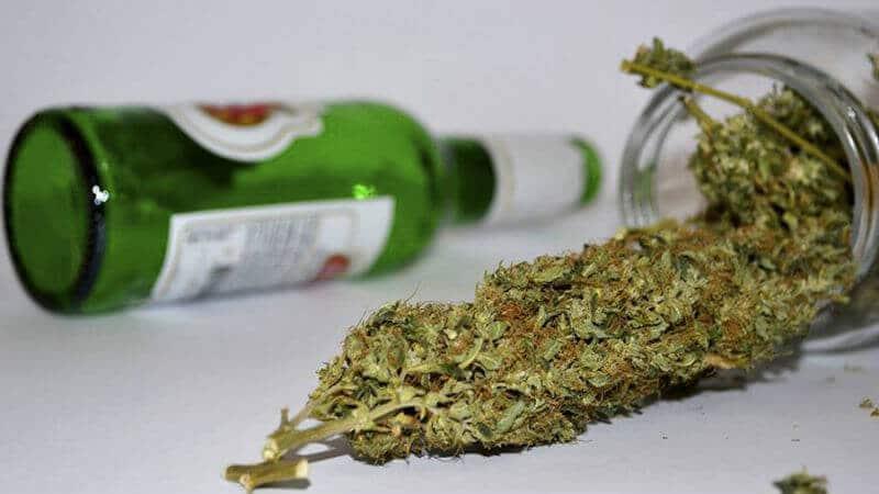 Maconha é melhor que álcool