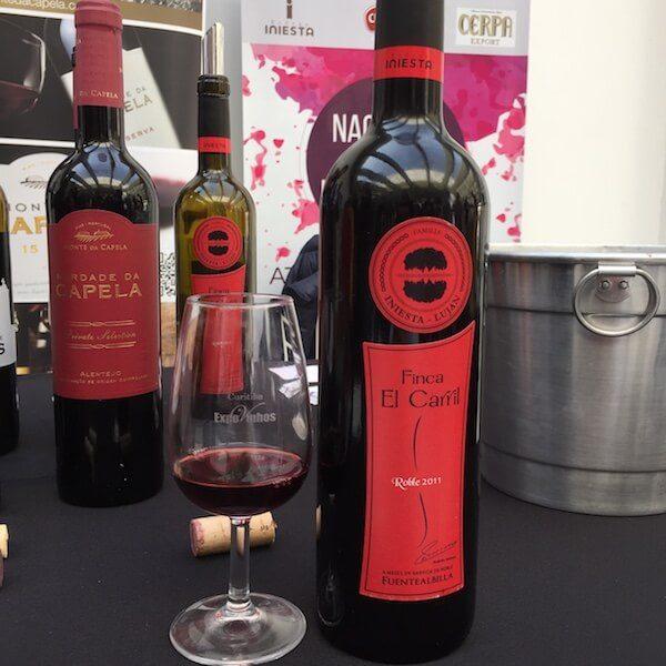 vinho do Iniesta na Expovinhos