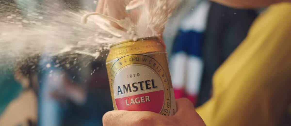 Amstel e sua primeira libertadores