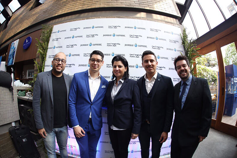 Alex Marcondes, Kennedy Nascimento, Talita Simoes, Ricardo Nava e Tony Harion
