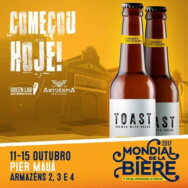 cerveja toast