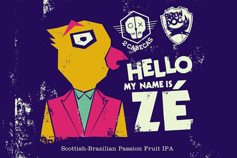 Cerveja Hello, my name is Zé