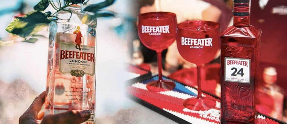 Capa beefeater