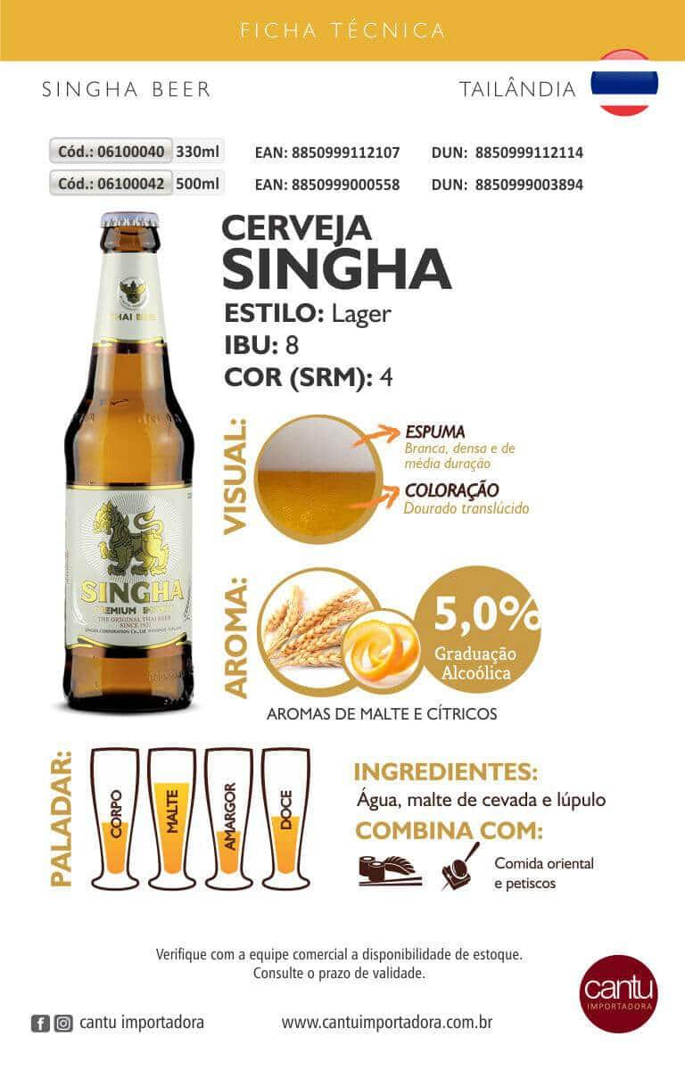 Cerveja SinghaBeer