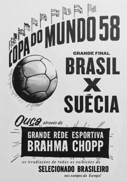 anúncio da brahma de 1958