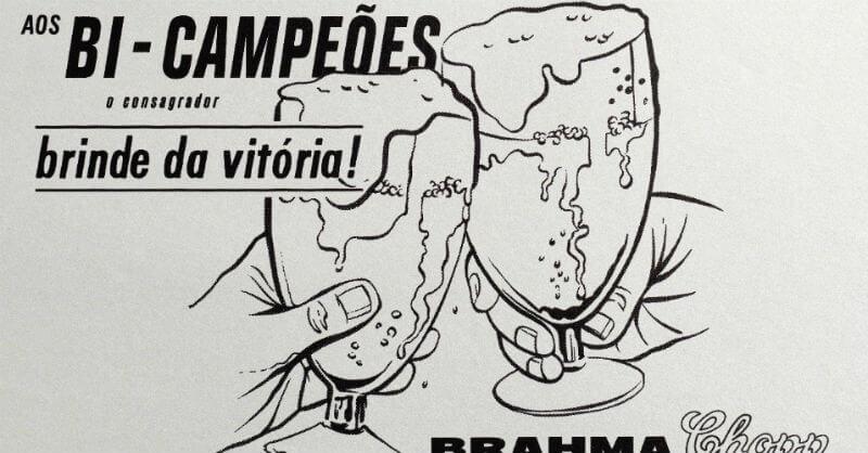 anúncio da brahma de 1962