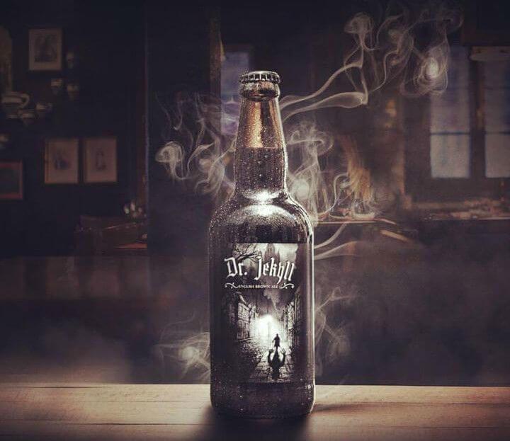 cerveja jekyll da dr. beard barber