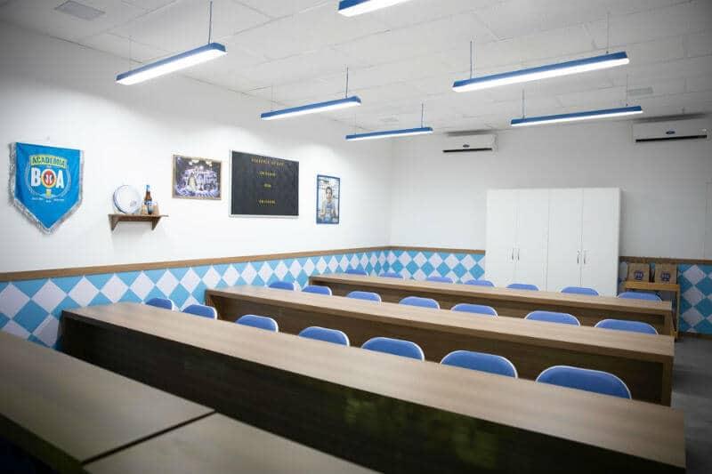 sala de aula academia da boa