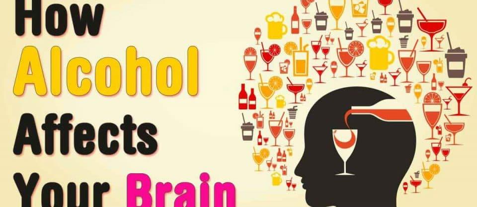 efeitos que o álcool faz no cérebro