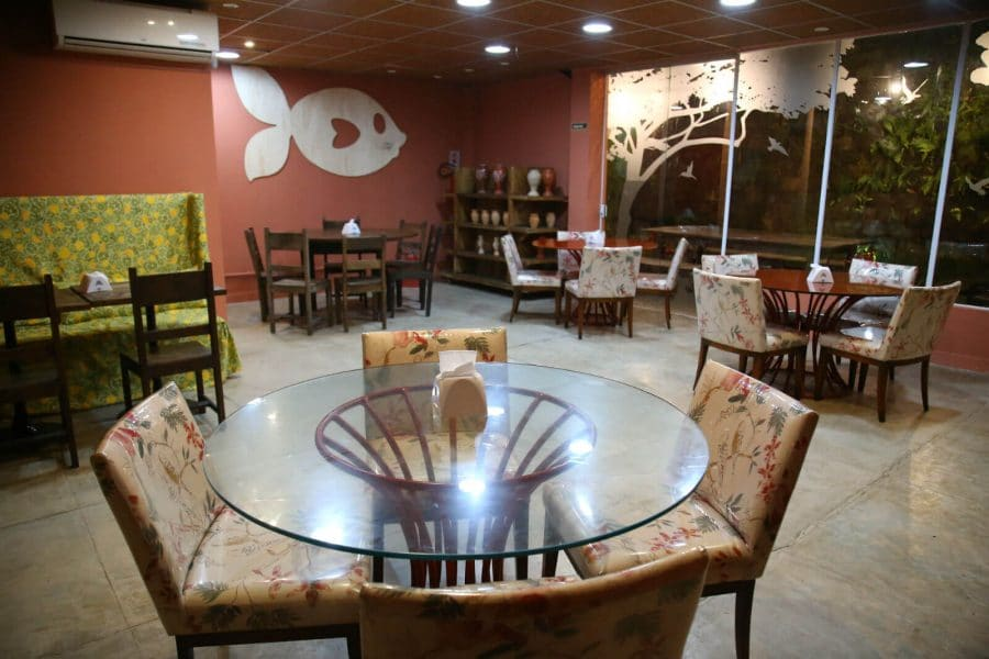 Interior do dendê gastronomia