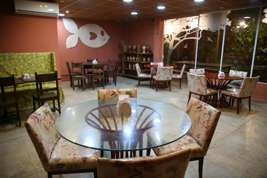Interior do dendê gastronomia