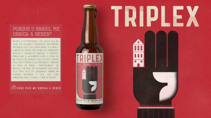 garrafa triplex