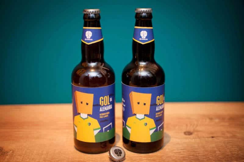 Cerveja Gol da Alemanha