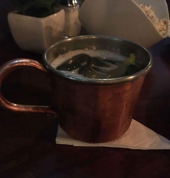 Drink Mulo di Mosca