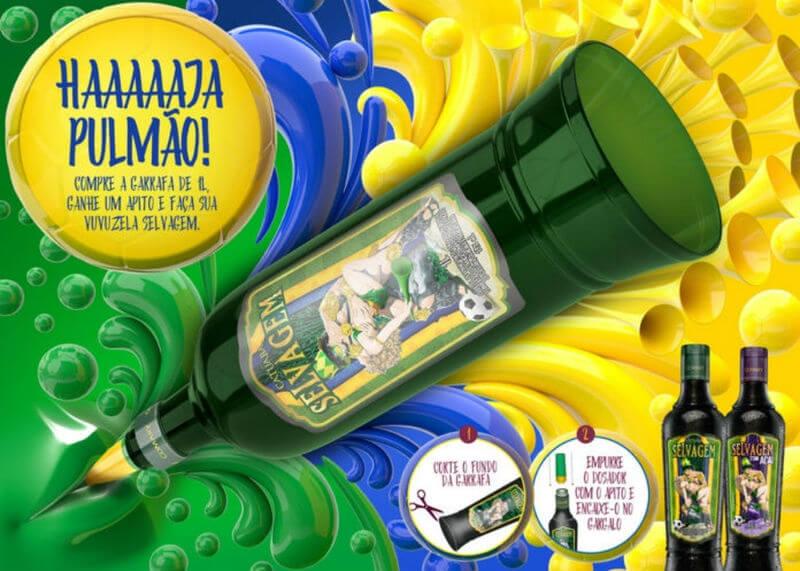Catuaba Selvagem vira vuvuzela