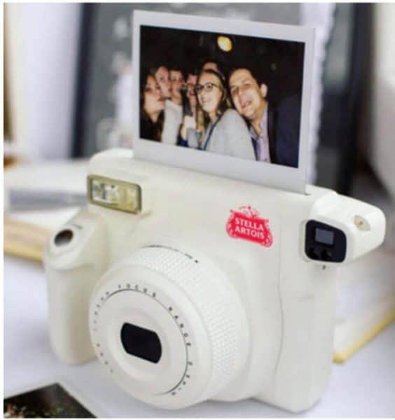 Stella Artois polaroid