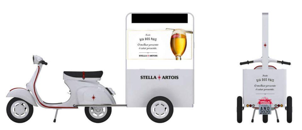 Vespa Stella Artois Dia dos Pais