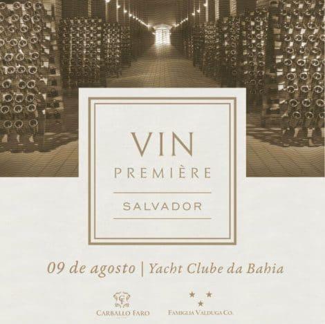 Vin Premiere - Convite
