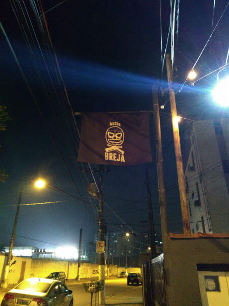 bandeira entrada mucha breja