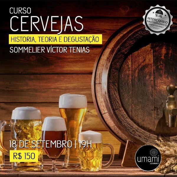 curso cerveja Intercâmbio gastronômico
