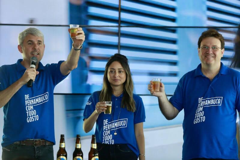 lançamento cerveja nossa