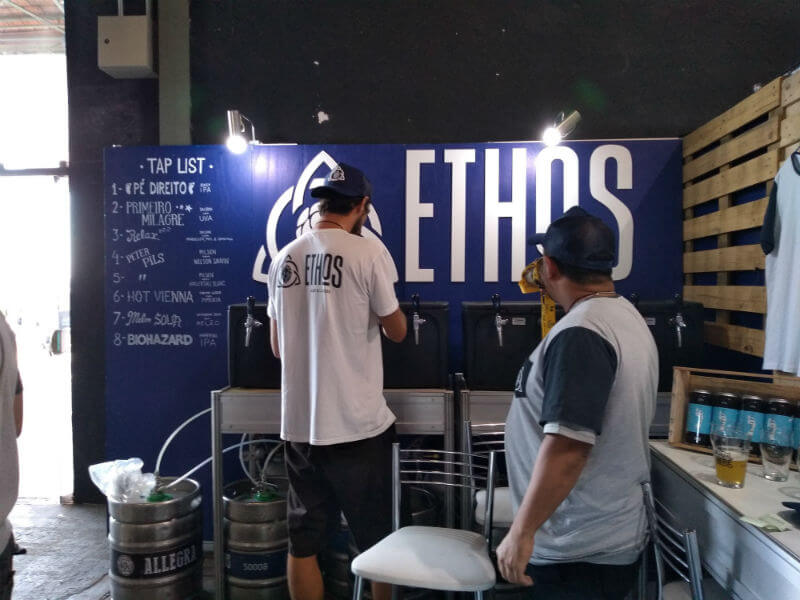 Stande da Ethos Ales & Lagers