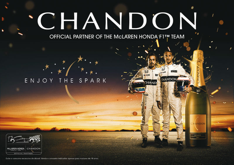 chandon mclaren honda